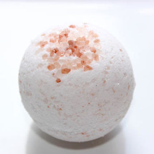 Rose Salt Bath Bomb - ECNSoap