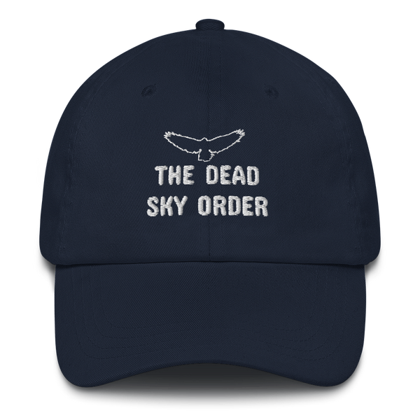 The Dead Sky Order cap with basic symbol and writing