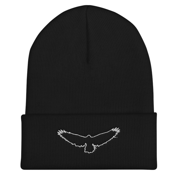 The Dead Sky Order Cuffed Beanie - with basic symbol