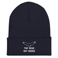 The Dead Sky Order Cuffed Beanie - with basic symbol and writing