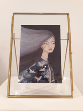 Load image into Gallery viewer, A5 Lani in brass frame