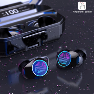 True Wireless Stereo Waterproof Earbuds Bluetooth Headphones/Noise Cancelling