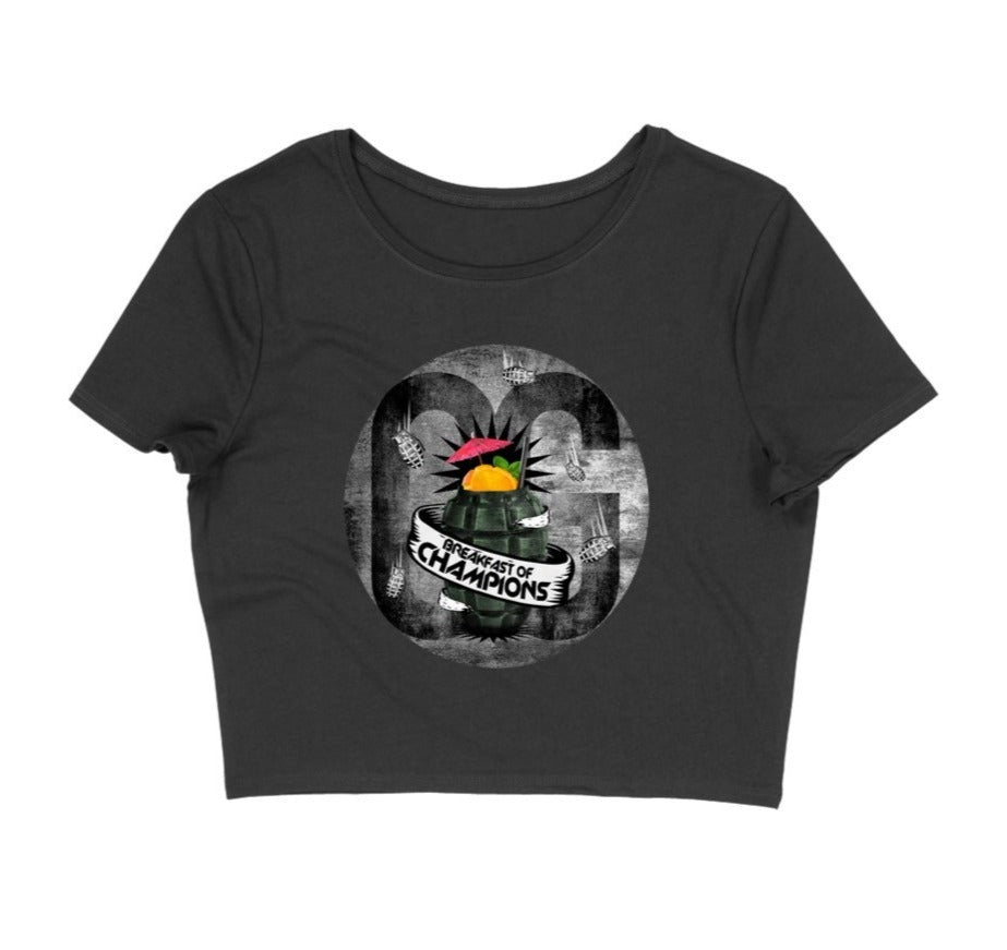 Breakfast of Champions Women's Crop Top