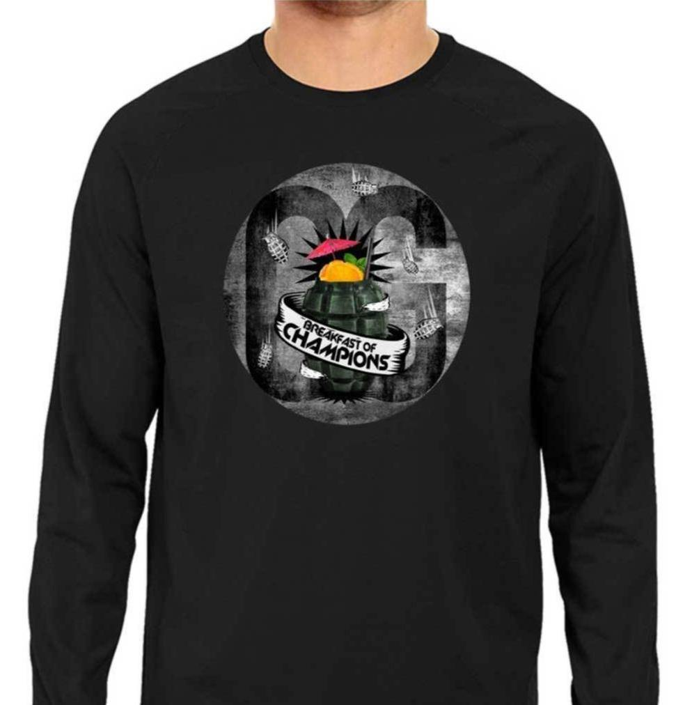 Breakfast Of Champions Long Sleeve T-shirt - oglife.in