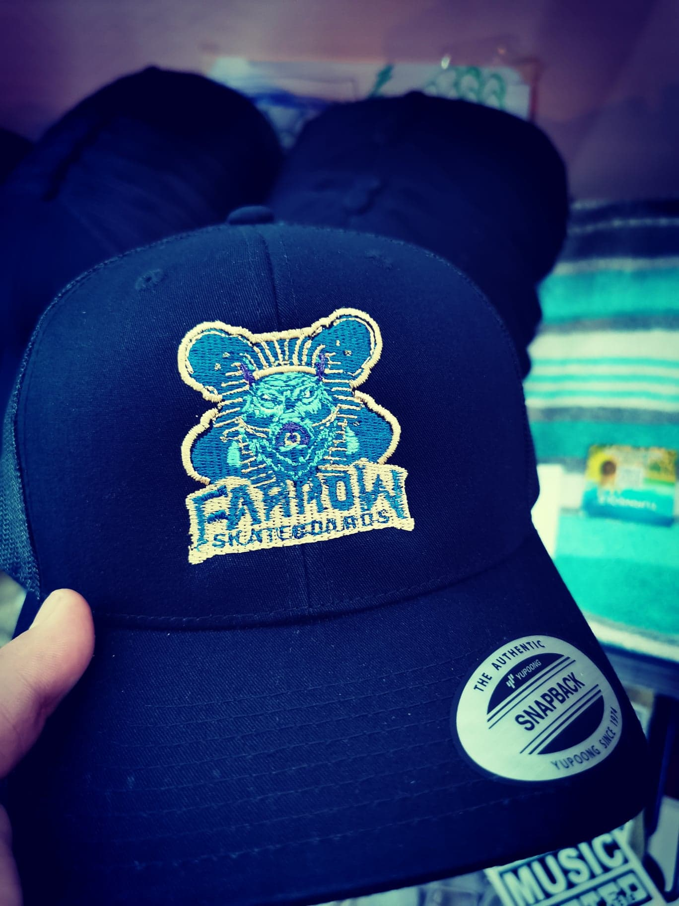 Farrow Skateboards - Official Snapback Hat