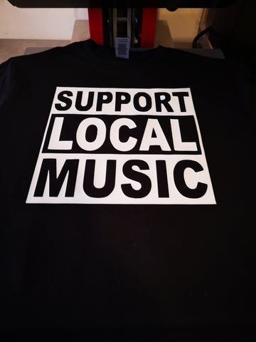 Support Local Music Unisex Tee
