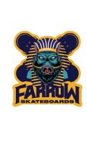 Farrow Skateboards - Official Sticker Slap