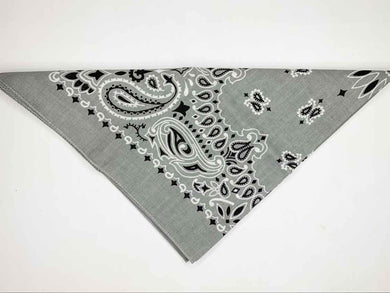 Light Grey Bandana