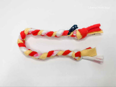 Braided Fleece Cat Toy - Small