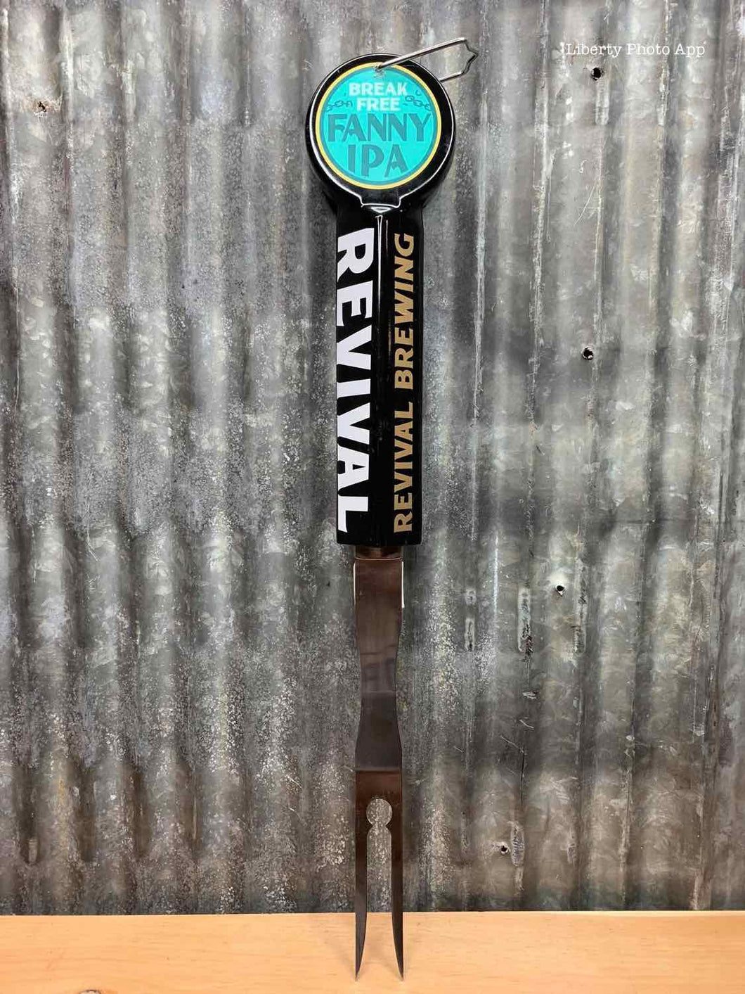 Revival Brewing Fanny IPA Beer Tap - Fork