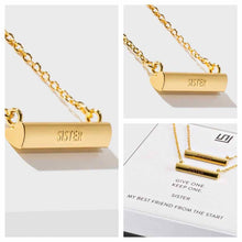 Load image into Gallery viewer, Sisters Necklace- Set of 2 - 18K Gold Plated