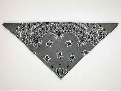 Dark Grey Bandana