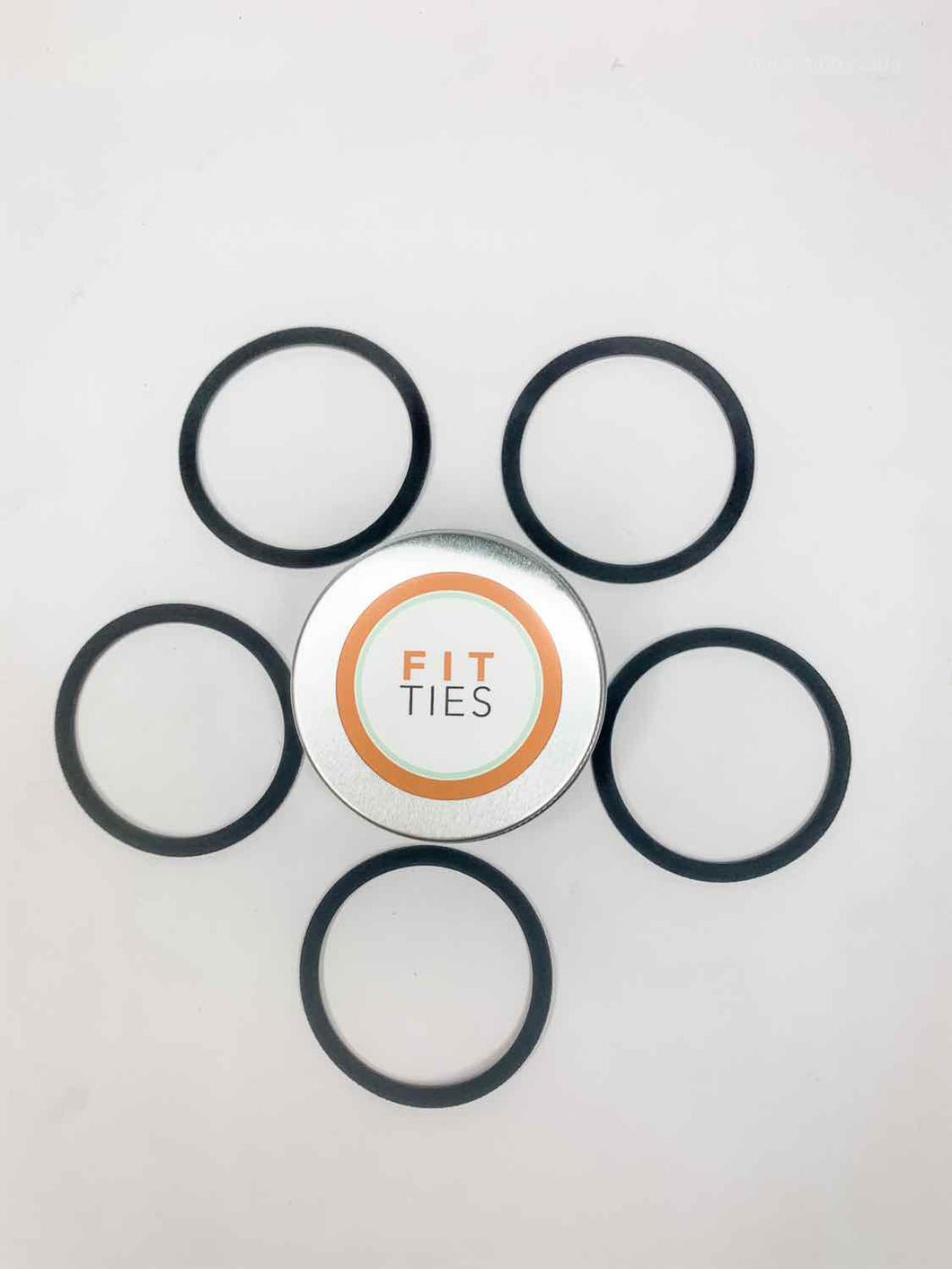 Fit Ties - Performance Hair Ties - 5pack