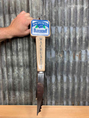 Wachusett Blueberry Beer Tap - Tongs