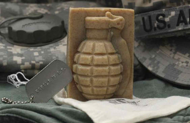 Napalm in the A.M. Grenade Soap