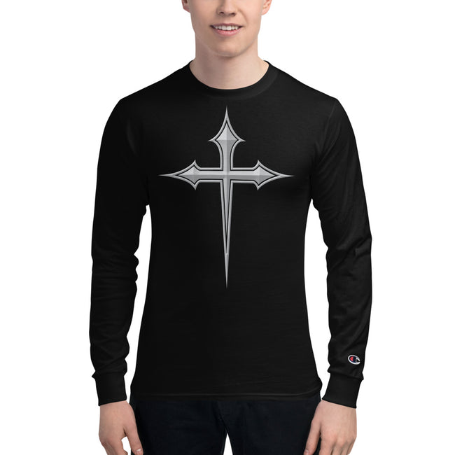 PBTC™ THE  CROSS LOGO  X Men's Champion Long Sleeve Shirt