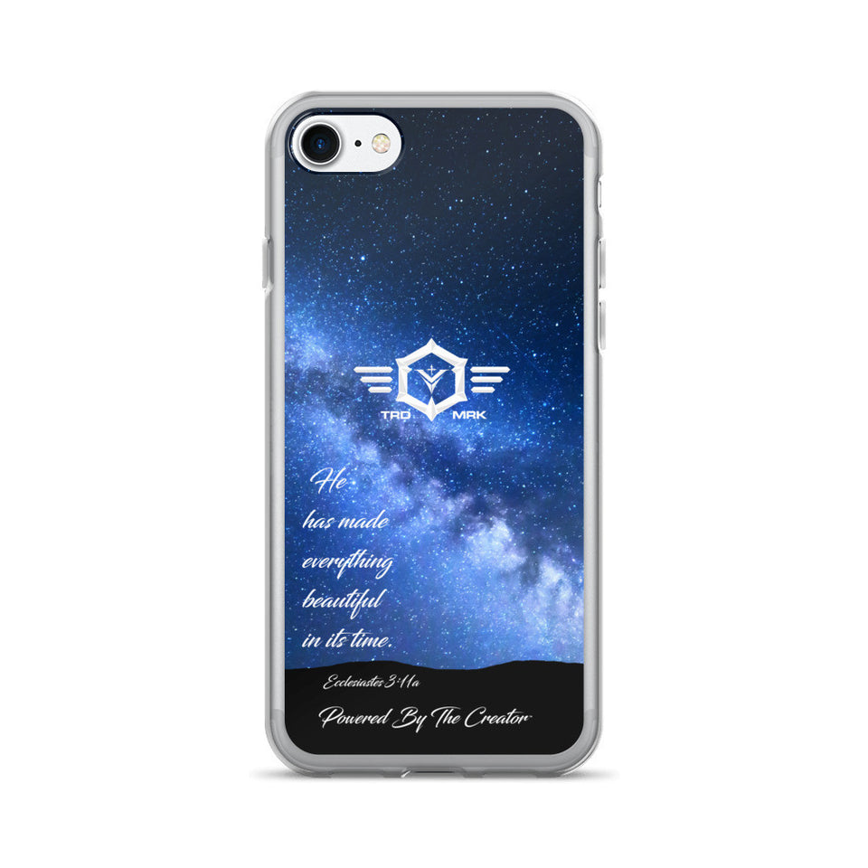 "iPhone 7/7 Plus Case - ""Made everything beautiful"""