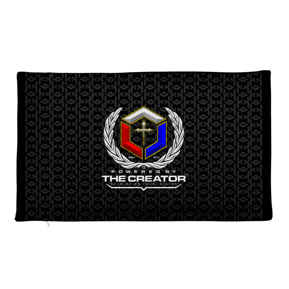 POWERED BY THE CREATOR™ Premium Pillow Case only