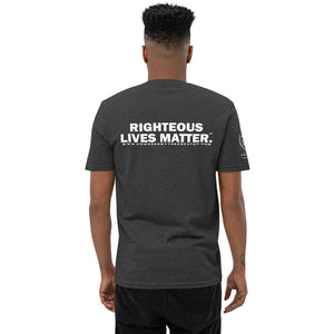 RIGHTEOUS LIVES MATTER.™ RLM UNISEX RECYCLED T SHIRT