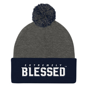 EXTREMELY BLESSED™  Pom Pom Knit Cap