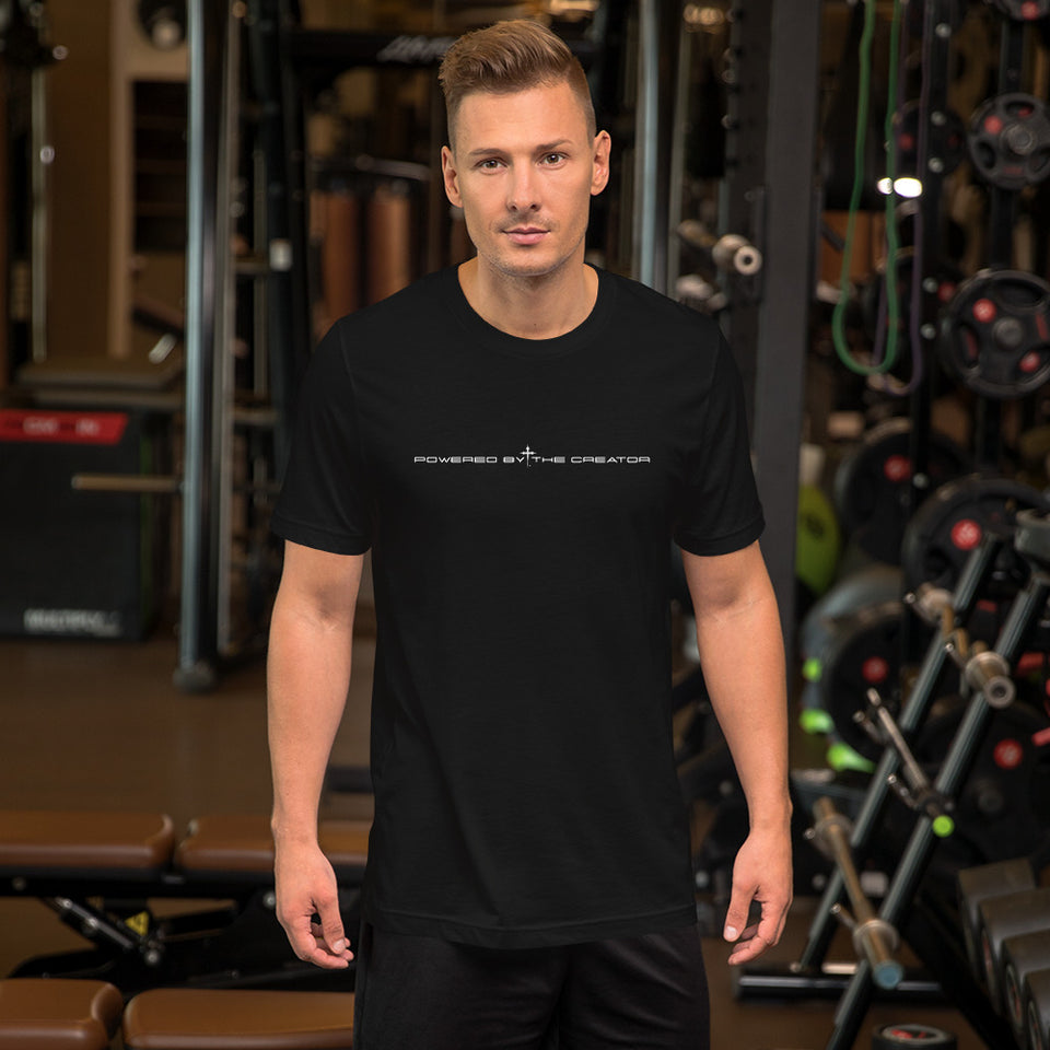POWERED BY THE CREATOR™ Short-Sleeve Unisex T-Shirt