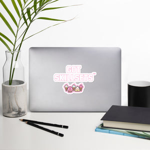 GOT SKILLSETS™ DONUTS Stickers