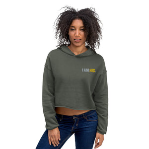 I AM HIS.™ Crop Hoodie