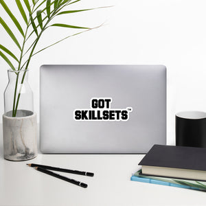 GOT SKILLSETS™ Stickers