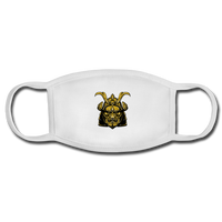Samurai Face Mask - white/white