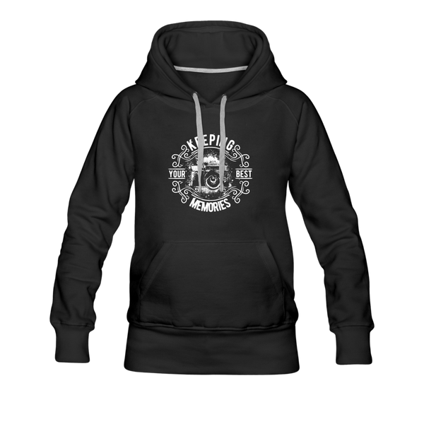 Photography Women's Premium Hoodie - black
