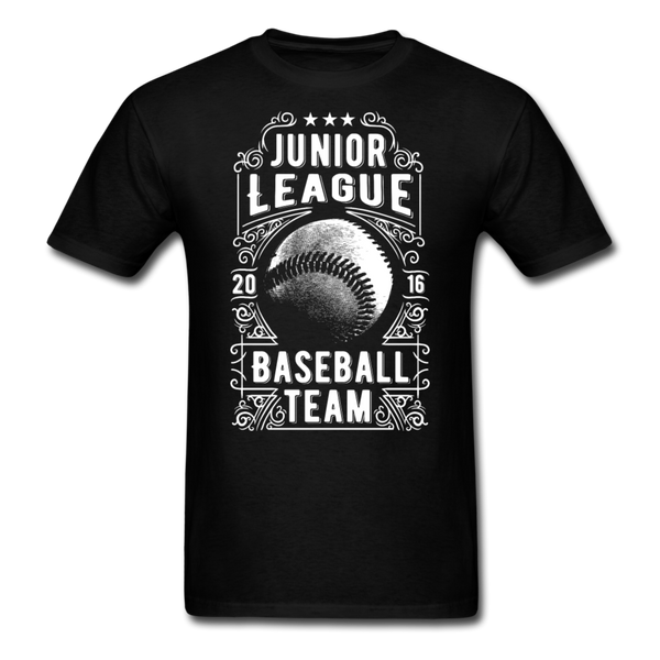 Junior League Baseball Unisex Classic T-Shirt - black