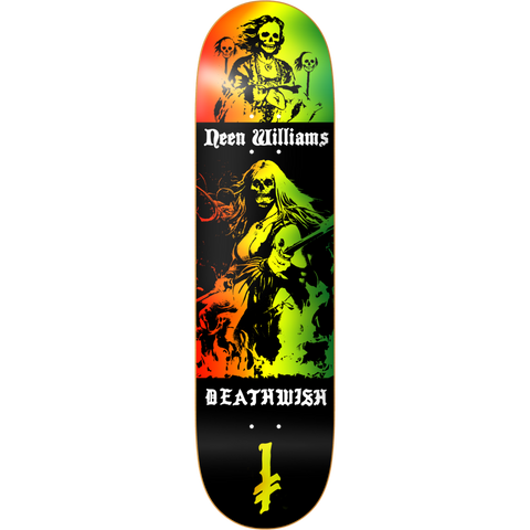 Deathwish NW Colors Of Death 8.0 - Skateboard Deck