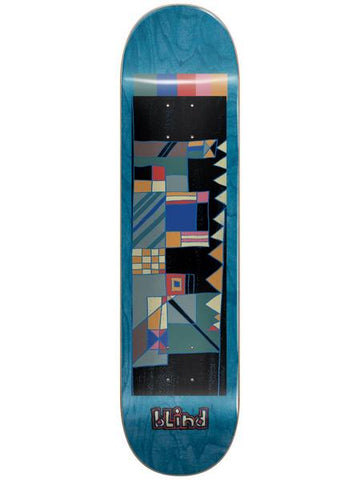 Blind Geo Map Blue 8.0 - Skateboard Deck