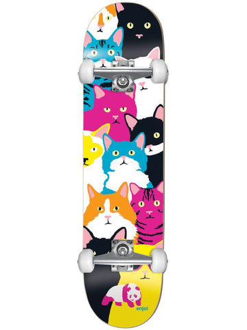 Enjoi Litter Box Premium 8.0 - Skateboard Complete