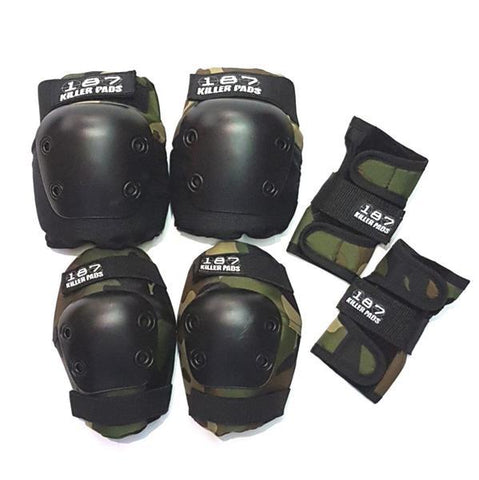 187 Junior Pad Set Camo - Protection Kit