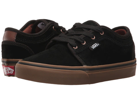 Vans Youth Chukka Low Black/Gum/Musta - Shoes