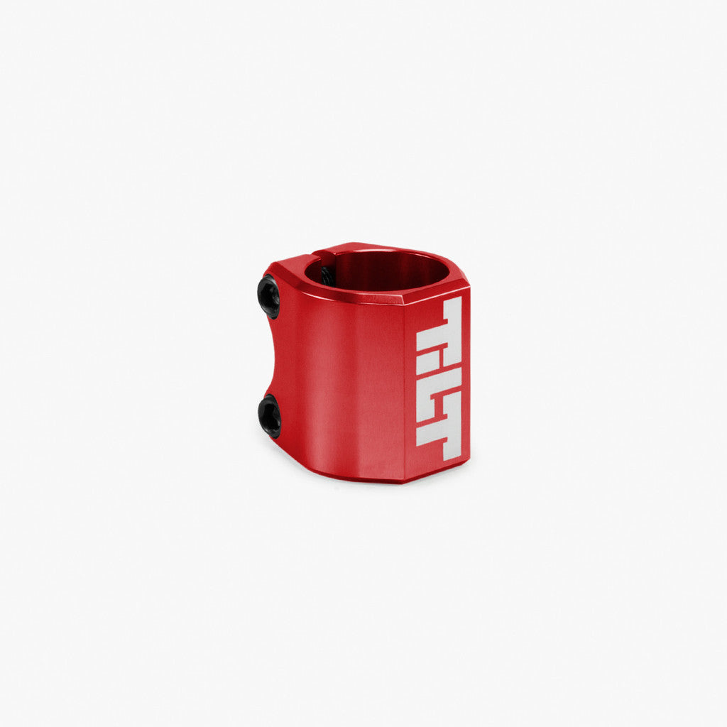 Tilt Classic Double Clamp, Red