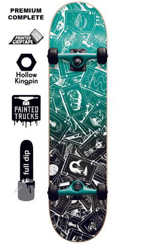 Darkstar Player Youth Premium - Skateboard Complete