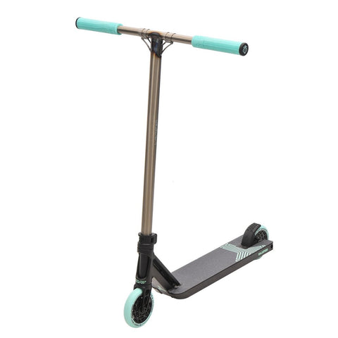 Triad Racketeer - Scooter Complete Satin black / Raw / Teal