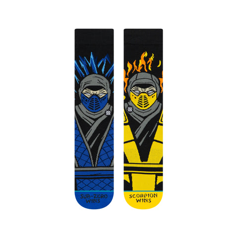Stance Sub Zero VS Scorpion - Socks Front