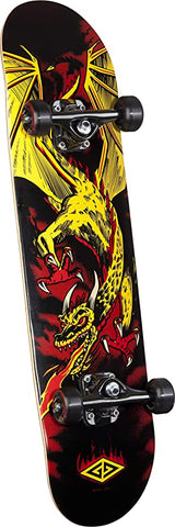 Powell Peralta Flying Dragon 2 7.625 - Skateboard Complete