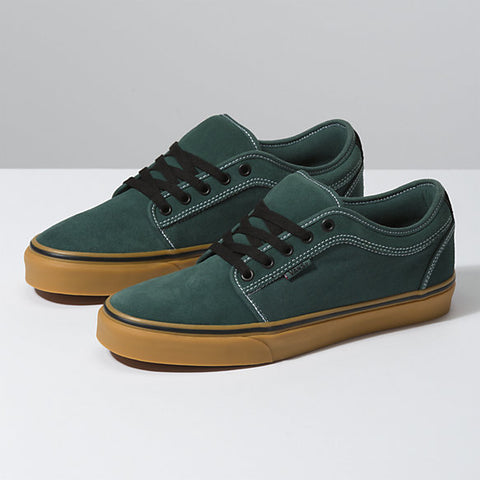 Vans Chukka Low Pro Trekking Green - Shoes