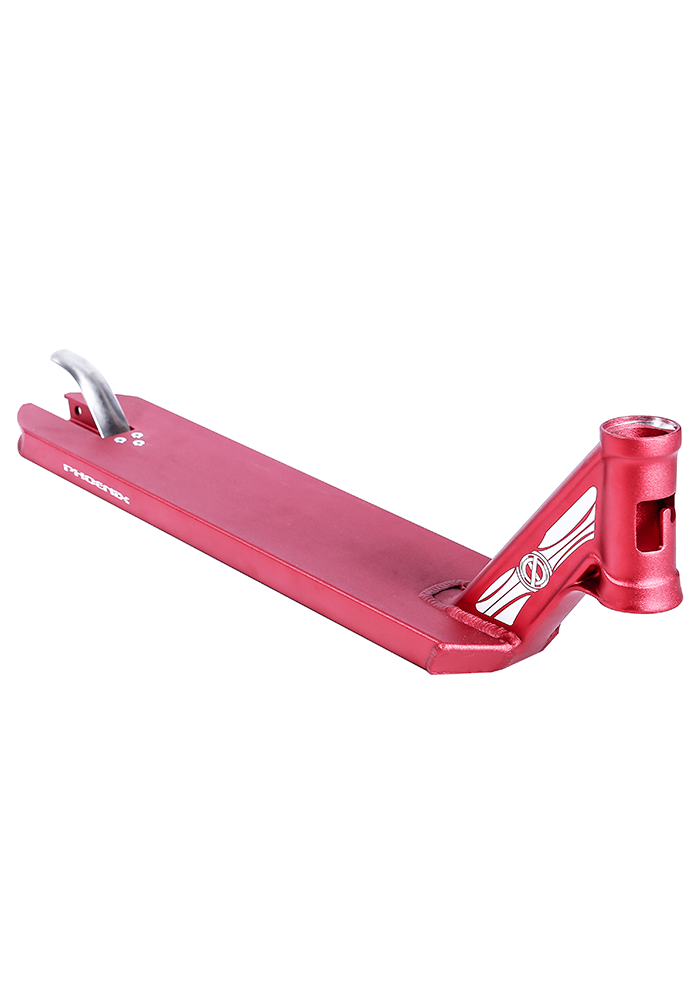 Scooter deck for freestyle scooter, Red