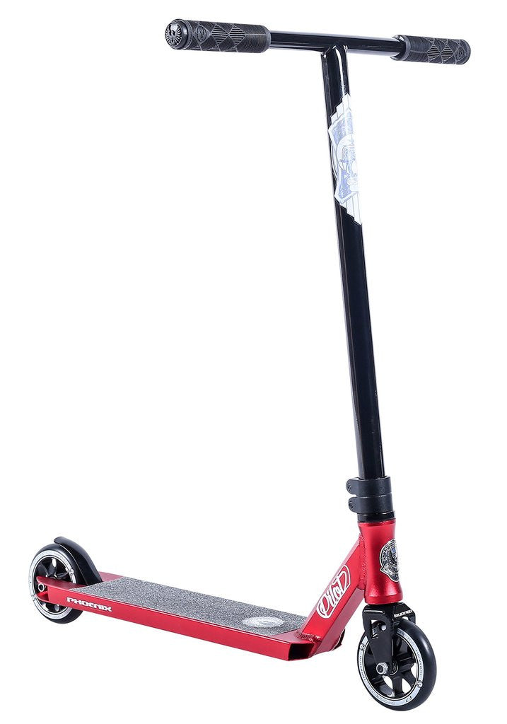 Phoenix Pilot, Complete Scooter, Red Black
