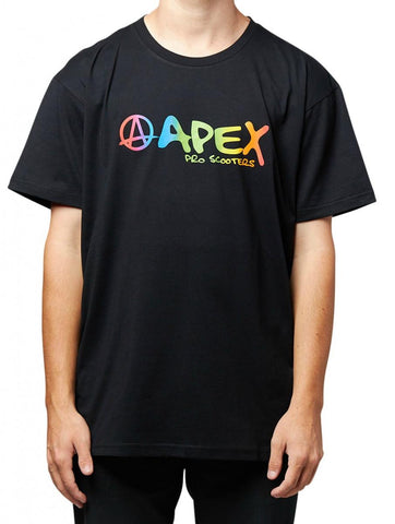 Apex Rainbow Black - T-Shirt
