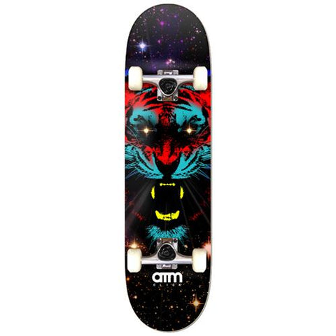 ATM Space Tiger 7.5 - Skateboard Complete