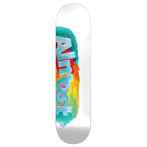 Almost Side Smudge White 8.0 - Skateboard Deck