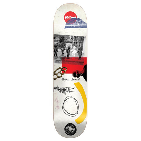 Almost Youness Scraps R7 8.0 - Skateboard Deck