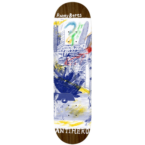 Antihero Beres SF Then And Now 8.12 - Skateboard Deck