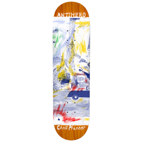 Antihero Chris Pfanner SF Then And Now 8.06 - Skateboard Deck